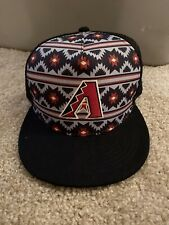NWT Arizona Diamondbacks Native American Tribal Trucker Hat Cap 2019 SGA DBACKS