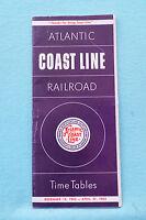 Atlantic Coast Line Railroad - Time Table - Dec. 14, 1962 - Apr. 27, 1963