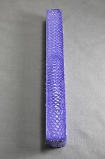 "1 EXOTIC JUMA PURPLE DRAGON 12"" X 1.45"" SQUARE POOL BILLIARD CUE BUTT MATERIAL"