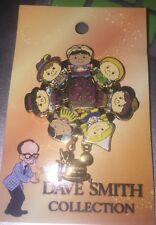 Disney Pin Dave Smith Collection It's A Small World On Card Le 2000 Wdw