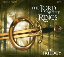 The Lord Of The Rings DER HERR DER RINGE Complete Trilogy SOUNDTRACK 3 CD Box