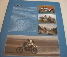 BMW GS BUCH - Die Erfolgsstory  BMW Motorrad Boxer R 80 100 1100 1150 1200 GS R