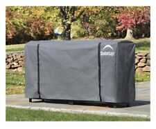 ShelterLogic 8' Universal Full-Length Firewood Rack Cover New