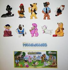 DOG STORIES COMPLETE SET OF 10 WITH ALL PAPERS KINDER SURPRISE 2010