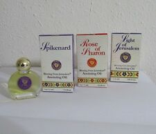 Set of 3 Blessing From Jerusalem Anointing Oil 7.5 ml/ 1/4 FL OZ Israel Holyland