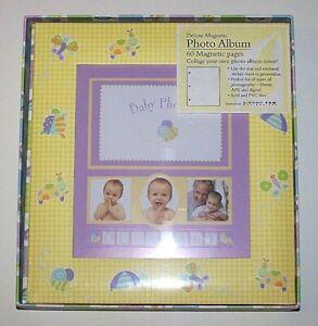 NIB New Seasons Baby Memories Our Baby Photo Album Acid PVC Free Factory Sealed