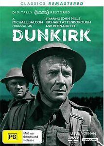 Dunkirk DVD (Pal, 2017) BRAND NEW & SEALED - FREE POST