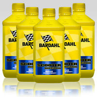 5 LT Bardhal Bardahl Scooter Injection Olio Miscela Sintetico Scooter 2T