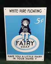 Fairy Soap Embossed metal sign
