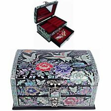Jewelry Box Mother of Pearl Jewelry Organizer Jewelry Holder Craftsman 5201QB