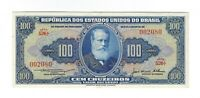 100 Cruzeiro Brasilien 1956 C031 / P.153b - Brazil Banknote