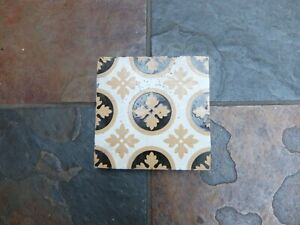 Original Victorian Minton Floor Tiles A. W. N. Pugin Design