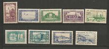 1920/40 Algérie RF 9 timbres non oblitérés /T5804