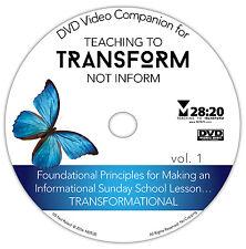 DVD Video Companion for Teaching to Transform Not Inform 1 (Sunday School Train)