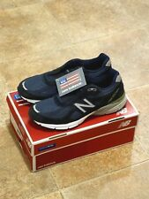 Men's New Balance 990 v4 Running Shoes - Size 10 - Navy Blue - Made in USA