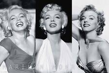 Marilyn Monroe Trio Poster Print, 36x24