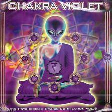 Chakra violet a Psychedelic Transe Compilation Vol 5-CD Neuf-Goa Transe tbfwm