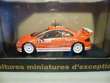 PEUGEOT 307 WRC N°5 M.GRONHOLM DE RALLYE : NOREV POUR CEC  ~  NEUF
