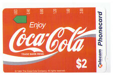 $2 Telecom Phonecard - Coca Cola - Coke Card No.3 - MINT