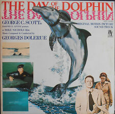 GEORGES DELERUE OST DAY OF THE DOLPHIN LP Japan NMint