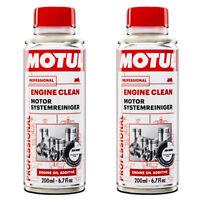 Additivo Pulizia Lavaggio Interno Motore Moto Motul Engine Clean 2X200 ML