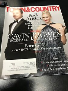 Town & Country Magazines  4 Issues 2014