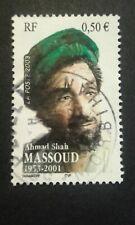 TIMBRE AHMAD SHAH MASSOUD 1953-2001 / 2003 FRANCE