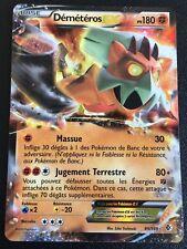 Carte Pokemon DEMETEROS 89/149 Holo EX Ultra Rare Noir et Blanc Française NEUF