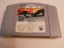 F-1 world grand prix ii 2 cartouche nintendo 64/N64 pal