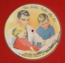 VINTAGE DOUBLE SIDED  THE PICTURE PLAY RECORDS /RECORD GUILD OF AMERICA