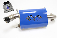 Evolution Powersports Evo Stage 1 ECU Flash Blue Magnum Exhaust RZR XP TURBO