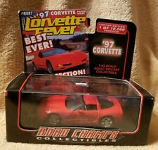Road Champs 1997 CORVETTE 1:43 Scale with Box Cover Cars Limited Edition