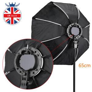 UK 65CM New Octagon Umbrella Softbox for Godox AD200 V1 Speedlite Flash Light