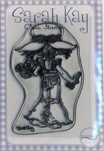 Sarah Kay - Clear Stamp - Spring Blossoms - SAKNATSK7B