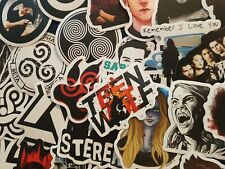 Teen Wolf Stickers 20//50 Skate PC TV Show Decal Scrapbook Cardmaking Kids Party