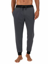 Fruit of the Loom Men's Knit Poly Rayon Lounge Pant Size S   --R9--