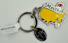 2017 MASTERS Metal MAP/FLAG Logo Keychain from AUGUSTA NATIONAL