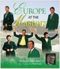 Europe at the Masters, Rider, Steve, Very Good Book