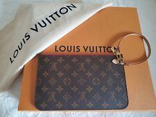 Louis Vuitton Pochette Felicie Zippered Insert Monogram Brown Authentic NEW
