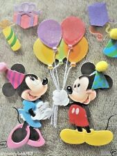 DISNEY VACATION Scrapbook 3d Stickers Set  Birthday Party Mickey Mouse