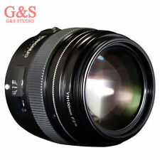 Yongnuo Yn100mm F2 AF MF Large Aperture Auto Focus Lens for Canon EOS Cameras