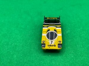 ORIGINAL TOMY AFX RACEMASTER, PORSCHE 962, TAKA-Q # 7, AWESOME CAR