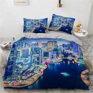 3D HD Bedding Set King/double/queen/single Duvet Cover Pillowcases For 0.9m-2.8m