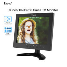 "Eyoyo Small 8""LCD HDMI Monitor IPS 300cd/m² 1024x768 for Raspberry Pi CCTV TV PC"