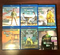 COFFRETS BLU RAY : BREAKING BAD - SAISONS 1 A 6 - SERIE INTEGRALE 5 + FINALE !