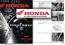 Honda CBR1100 BLACKBIRD Service Workshop Repair Shop Manual CBR 1100 XX 99-02