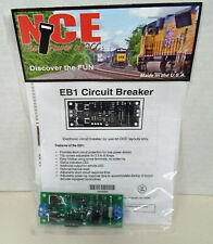 NCE EB1 SINGLE POWER DISTRICT ELECTRONIC DCC CIRCUIT BREAKER Model Railroad MIE1