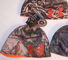 UNDER ARMOUR REVERSIBLE HUNTING HAT REALTREE XTRA MOSSY OAK TREESTAND LG/XL