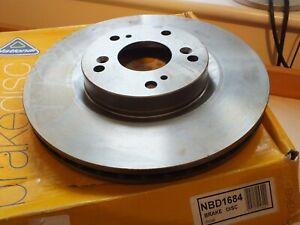 National Honda Civic Type R 2.0 16V 06-12 front brake discs x2 Pair  NBD1684 DW