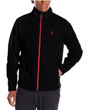Spyder Men's Foremost Full-Zip Heavy Weight Core Jacket, Size XXL, BlackVolcano
